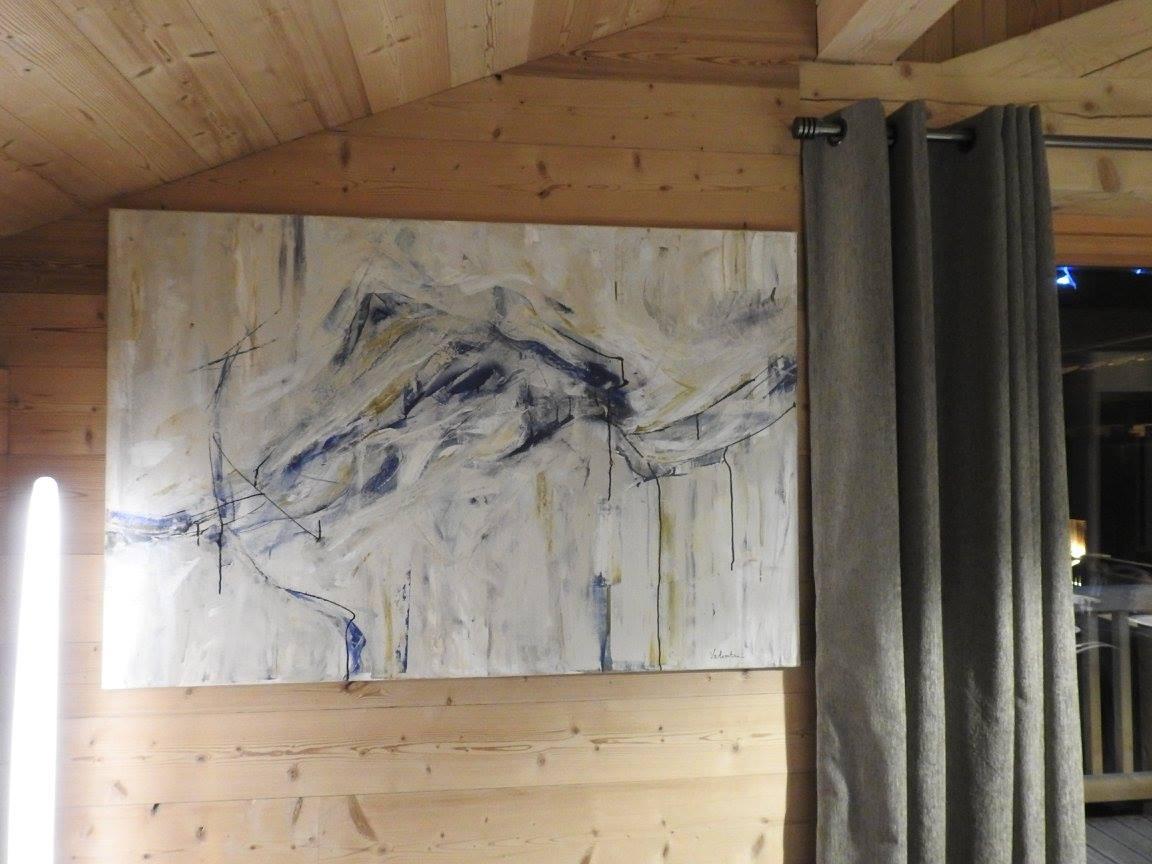 Peinture - Location chalet vacance Valmorel