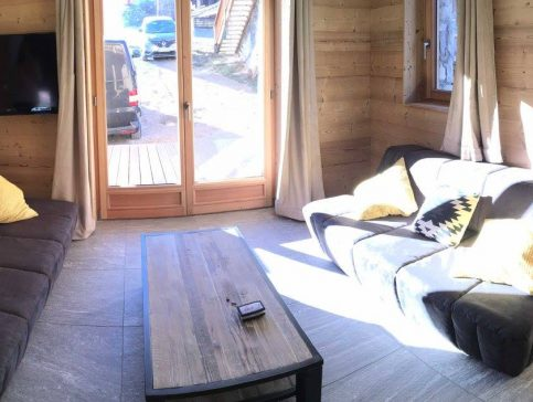 Salon - Location chalet vacance Valmorel